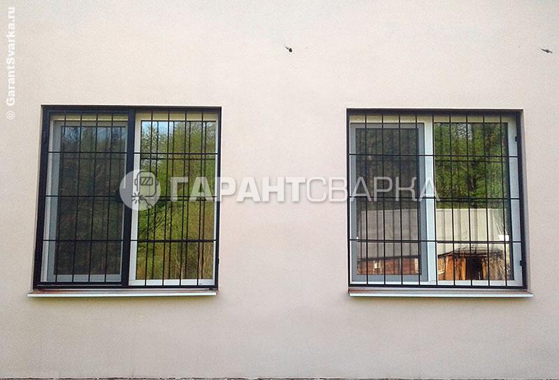 Решётка на окно №1