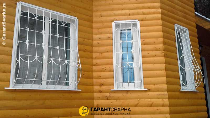Решётки на окна с установкой 🏠 Новая Деревня