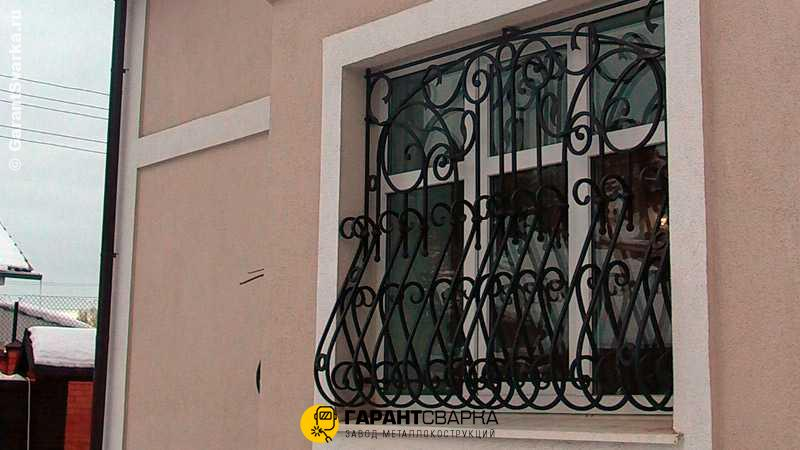 Решётки на окна с установкой 🏠 Коренец