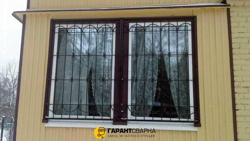 Решётки на окна с установкой 🚇 Пионерская