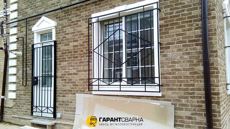 Решётки на окна с установкой 🚇 Студенческая