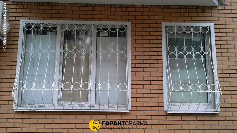 Решётки на окна с установкой 🚇 Панфиловская