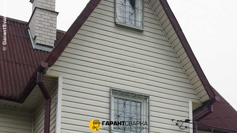 Решётки на окна с установкой 🏠 Нажицы