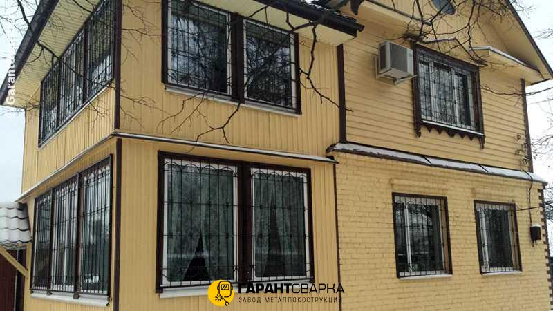 Решётки на окна с установкой 🏠 Малые Поляны